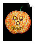 A Jack o'Lantern Made From Candy by Corbis