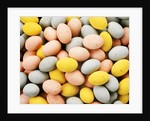 Small coloured Easter eggs by Corbis