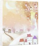 Christmas mood illustration by Corbis