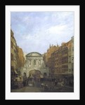 Temple Bar from the Strand by William Henry