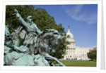 Cavalry group on the Ulysses S. Grant Memorial in Washington, DC by Corbis