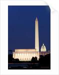 Landmarks in Washington, DC by Corbis