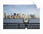 Manhattan skyline from New Jersey by Corbis