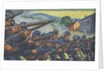 Soldiers fighting in US Civil War by Corbis