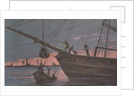 Colonists smuggling in Boston harbor, 1768 by Corbis