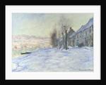 Lavacourt under Snow by Claude Monet
