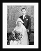 Wedding portrait of young couple, ca. 1924 by Corbis