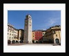 Apponale Tower in Piazza 3 Novembre by Corbis