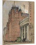 Waldorf Astoria Hotel by Joseph Pennell