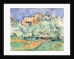 The House at Bellevue by Paul Cezanne
