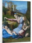 The Madonna of the Blue Diadem by Raphael