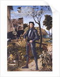 Young Knight in a Landscape (Portrait of a Knight) by Vittore Carpaccio