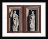 The Annuciation Diptych by Jan van Eyck