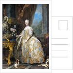 Marie Leszczinska, Queen of France by Charles van Loo