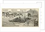 Rubifoam advertisement by Corbis