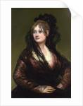 Dona Isabel de Porcel by Francisco de Goya