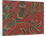 William Morris wallpaper sample with bamboo pattern by Corbis