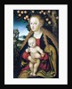 The Virgin and Child Under an Apple Tree by Lucas Cranach the Elder