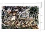 Massacre at Londinium in 60 A.D. by Corbis