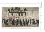 Funeral Procession of George III by Corbis
