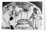 Frescoes Found in New Catacomb Discovery by Corbis