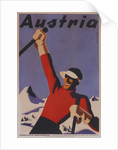 Austria travel poster by Corbis