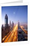 City Skyline, Dubai, UAE by Corbis