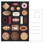 Variety of traditional English cookies by Corbis