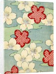 Woodblock print of dogwood blossoms by Corbis
