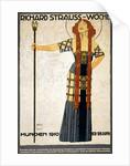 Richard Strauss-Woche poster by Ludwig Hohlwein