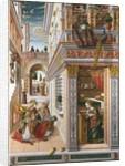 The Annunciation with Saint Emidius by Carlo Crivelli