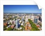 aerial image of Portland, Oregon, Pacific Northwest. by Corbis