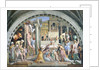 Fire in the Borgo by Raphael