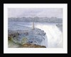 Grand Falls of the Niagara from the Observatory at Goat Island, July 22, 1846 by Michael Seymour