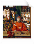 A Goldsmith in His Shop (St. Eligius) by Petrus Christus