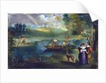 Fishing by Edouard Manet