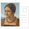 Portrait of a Young Venetian Lady by Albrecht Dürer