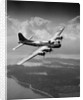 1940s us army aircraft world war ii b-17 bomber in flight by Corbis