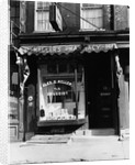 1930s pharmacy storefront by Corbis