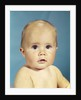 1960s portrait adorable sincere baby looking at camera by Corbis