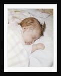 1960s sleeping baby infant by Corbis