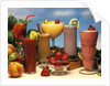 1990s low calorie fruit coolers and smoothies by Corbis