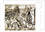 The Battle of Roch Darien and Charles of Blois taken prisoner by the English. by Corbis