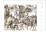King Richard in great danger in the City of London and the rebels discomfited by Corbis