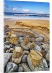 Coastal landscape at Dail Beag by Corbis