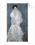 Portrait of Hermine Gallia by Gustav Klimt