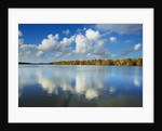 Clouds reflecting on water, Bayou, New Orleans, Louisiana, USA by Corbis