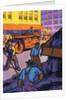 Oil Series: Workers Resurfacing a City Street by Corbis