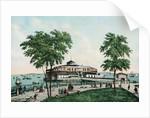 Castle Garden, Gateway to American Liberty, in 1850 by Corbis