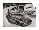 Futuristic Car that is a Car, Plane and Boat. by Corbis